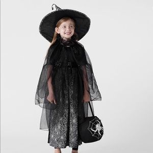 GLOW-IN-THE-DARK WITCH COSTUME FOR TODDLER